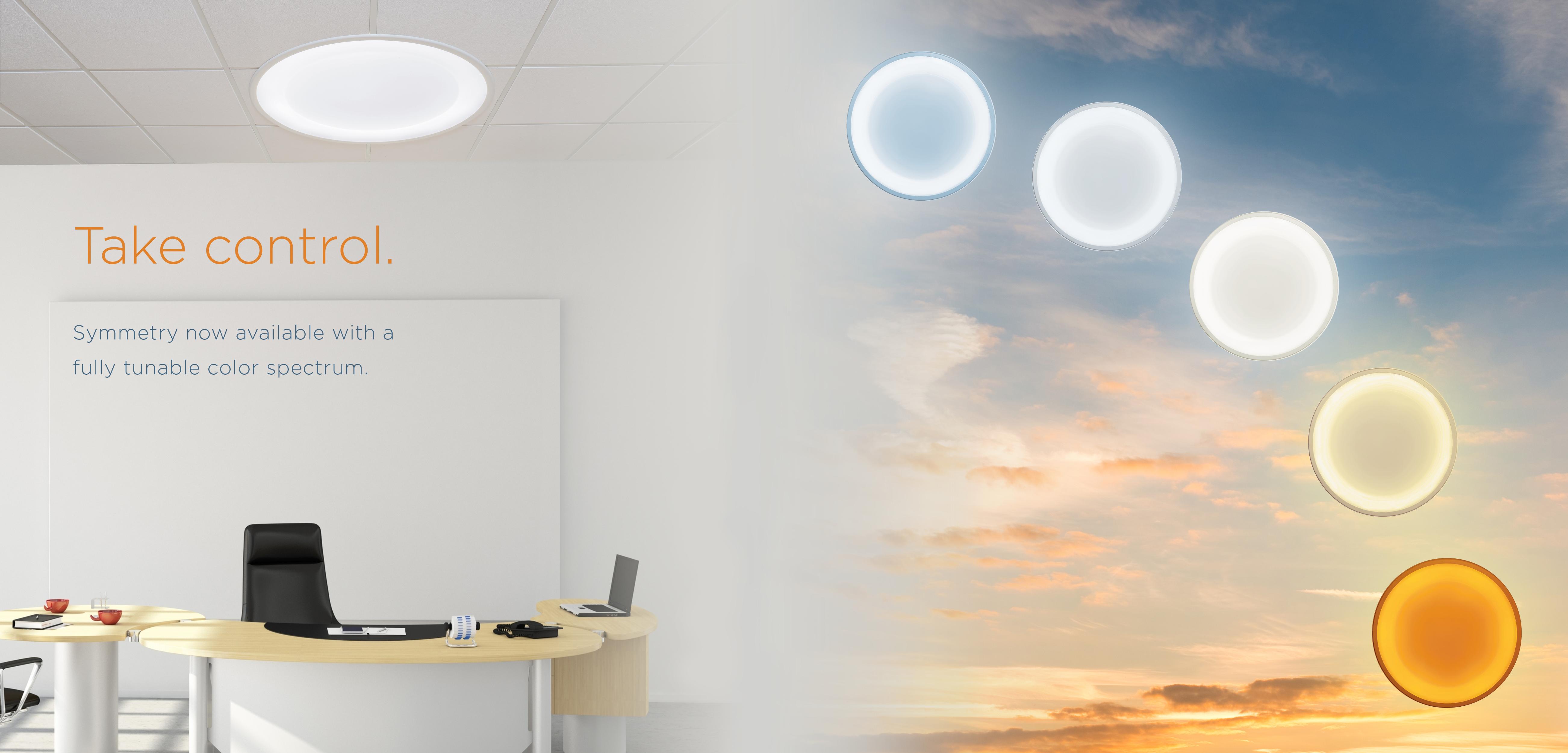 Tunable Lighting, Circadian, Symmetry, Visa Lighting, LED